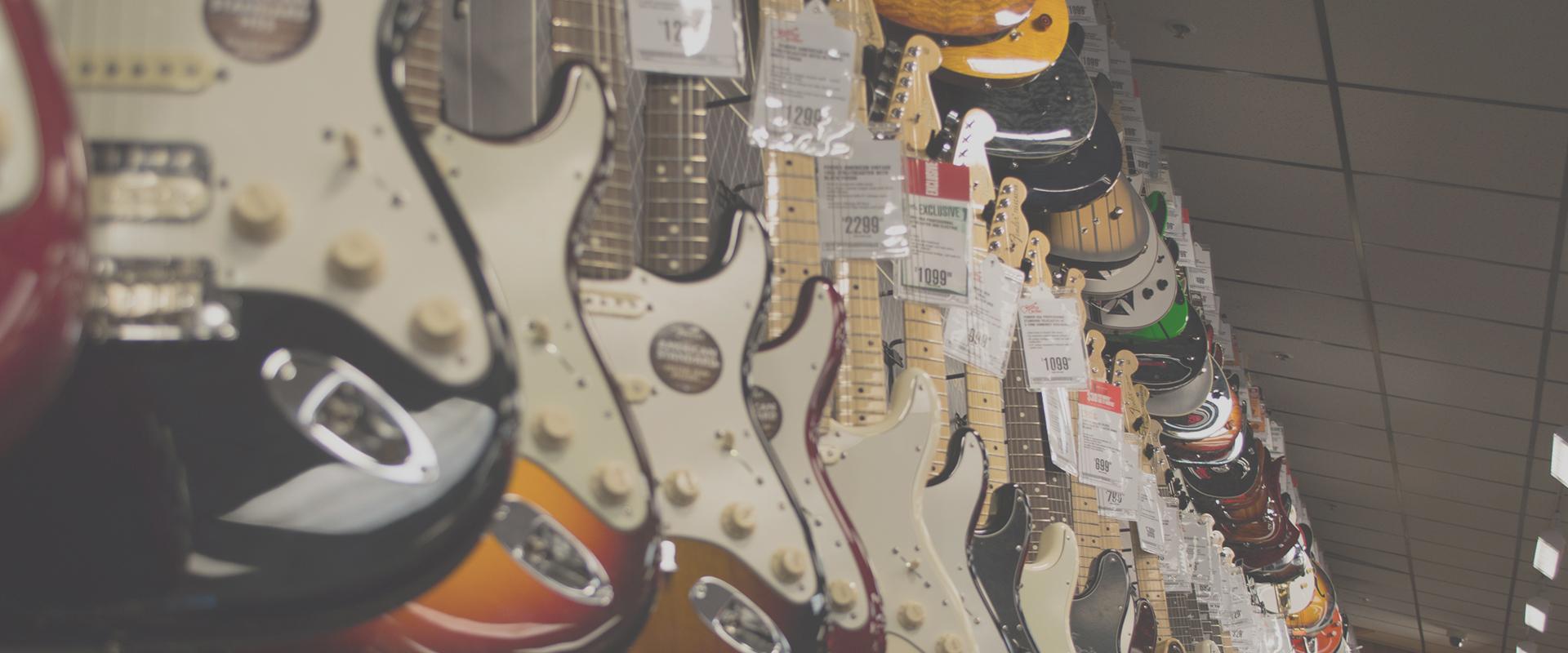 les differentes types de guitare