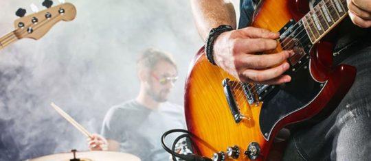 Le rock and roll et la guitare électrique