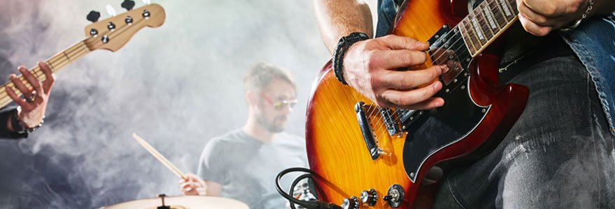 Le rock and roll et la guitare électrique
